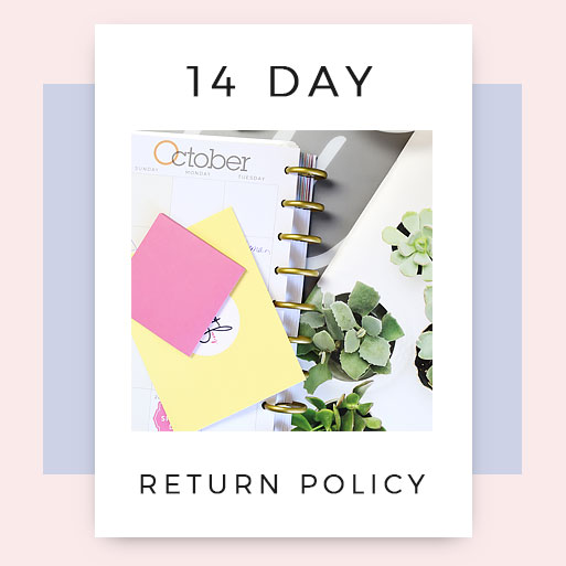 14 day return policy