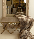 Sahara Gold Upholstered Bedroom Bench